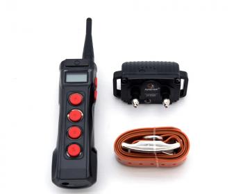 Электронный ошейник для дрессировки собак + антилай Aetertek AT-919C-1 (до 65 см)